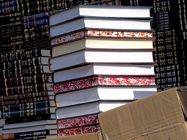 Holy Books in Mea Shearim Street