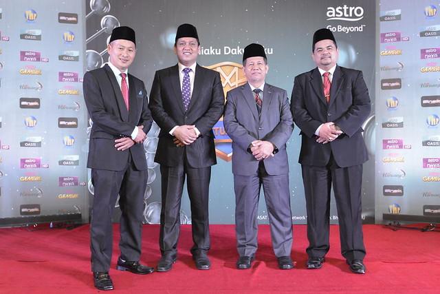 Dari kiri_ Dr Ridhuan Tee Abdullah (Pengacara) dan para Murabbi - Ustaz Zulkefli Hamat, Dato' Dr Hj Mohd Fadzilah Kamsah, Ustaz Tarmizi Abdul Razak