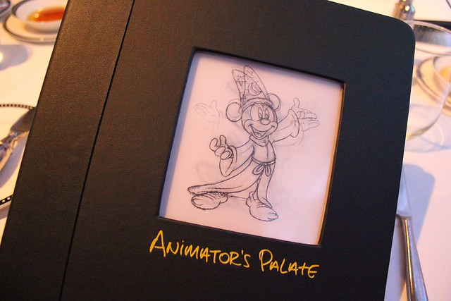 Animator's Palate on the Disney Magic