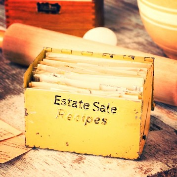 Estate Sale Recipes