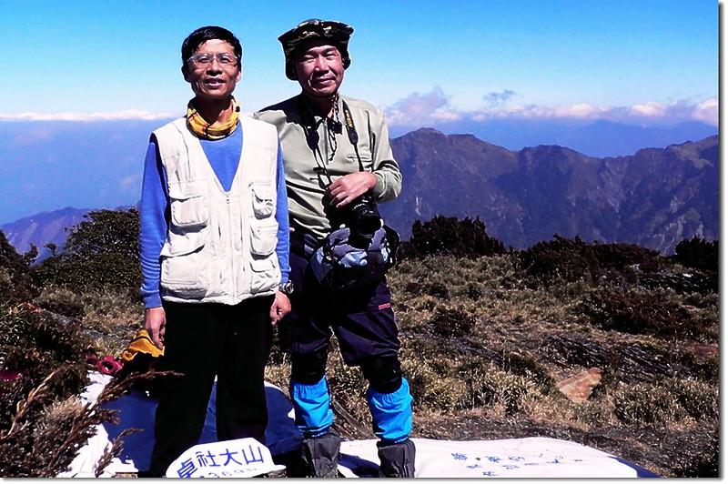 卓社大山山頂 5