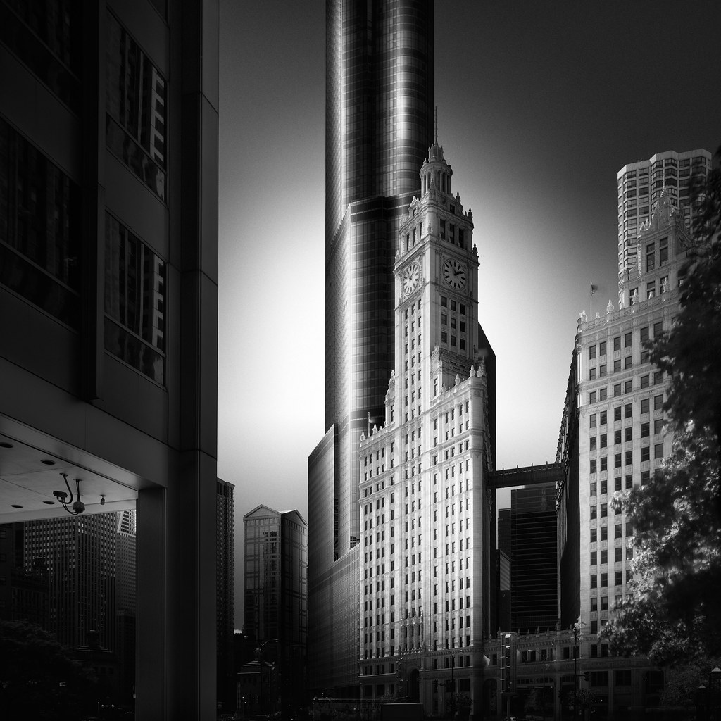 Visual Acoustics VI - Silence and Light - Echoes - Wrigley Building & Trump Tower