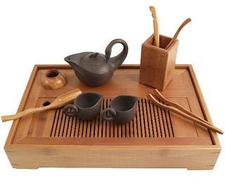 Plateau à thé chinois