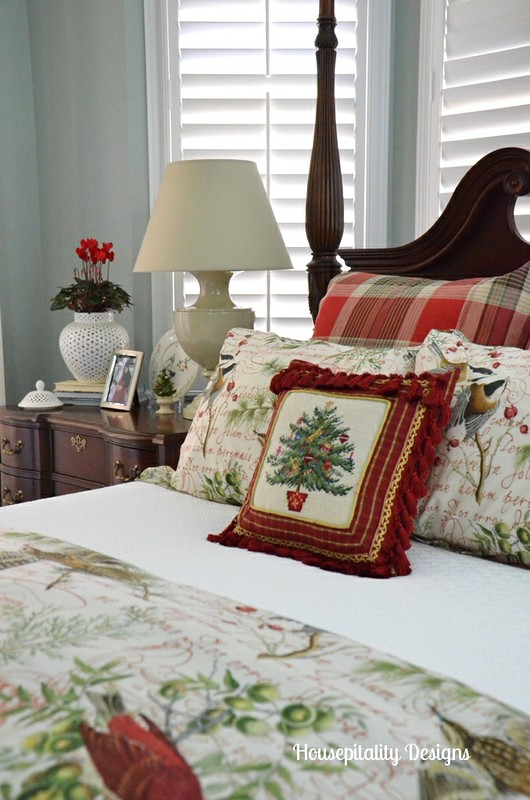 Holiday Bedding And Bedroom Christmas Decor