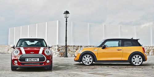 BMW reveal third-generation Mini Hatch
