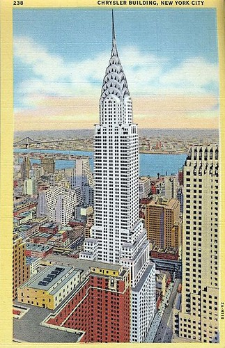 Chrysler postcard