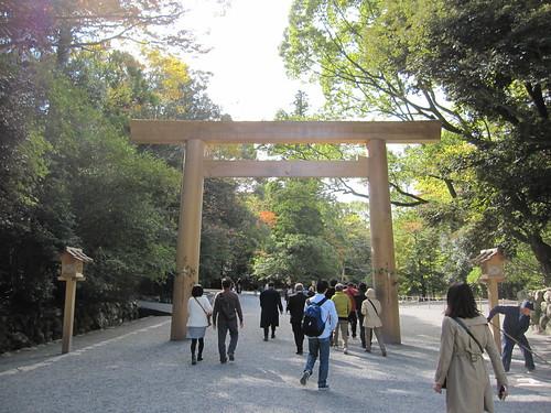 伊勢神宮内宮参道 2013.11.12 by Poran111