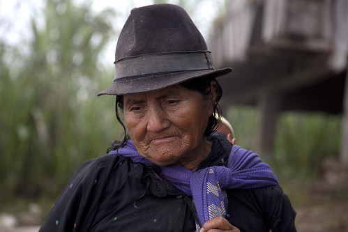 Indian portraits in Ecuador