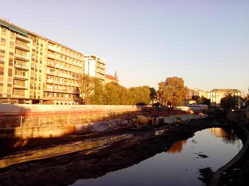Darsena, lavori in corso by Ylbert Durishti