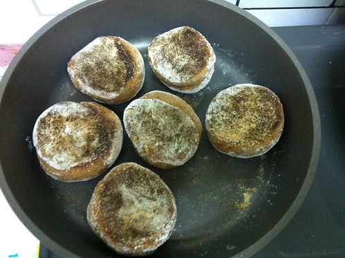 Yw 95% ww English muffins