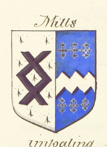 Image taken from page 60 of 'Some Account of the Parish of Stutton, near Ipswich, in the county of Suffolk. Compiled by F. A. Crisp. [With hand-painted heraldic illustrations.]'