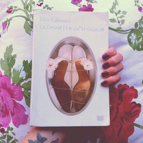 Skönheter och odjur av Lisa Gålmark, troligtvis den bästa boken jag läst i år! (Året har en till månad på sig, sen avgörs det!)