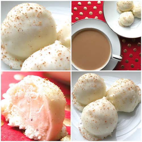 Mrs. Fields Secrets Egg Nog Truffles