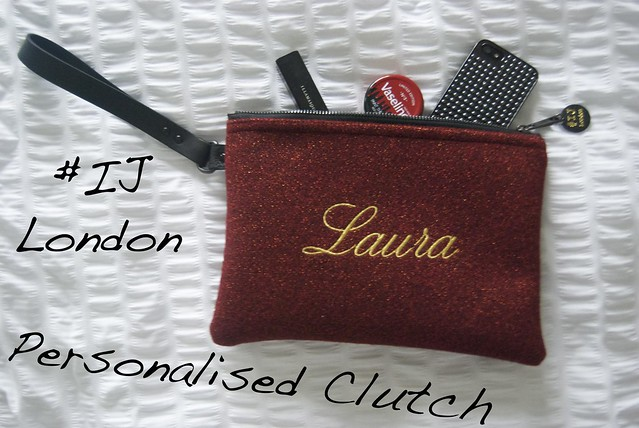 ij london clutch bag