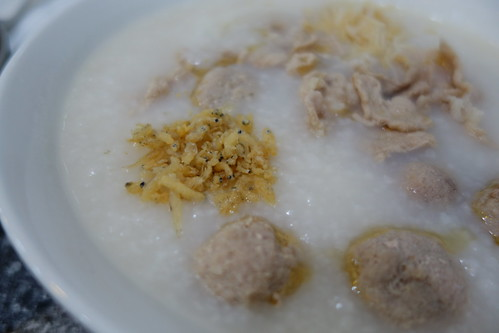 Minced Pork Ball & Sliced Pork Porridge at Zhen Zhou Dao