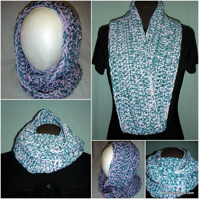 Crochet Scarf Patterns Worsted Weight : Ali Mobius Cowl: Worsted Weight ~ Free Crochet Pattern ...