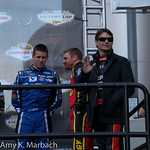 Kasey Kahne Carl Edwards Clint Bowyer Jeff Gordon During Driver Introductions For The Victory Lap