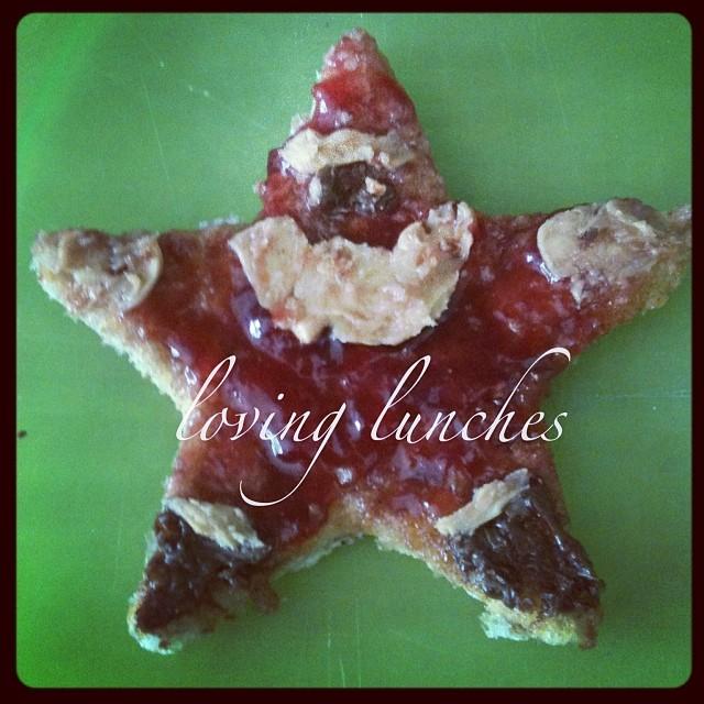 Loving Santa toast…