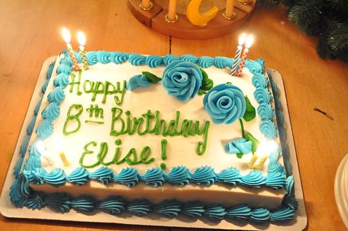 Elise is 8