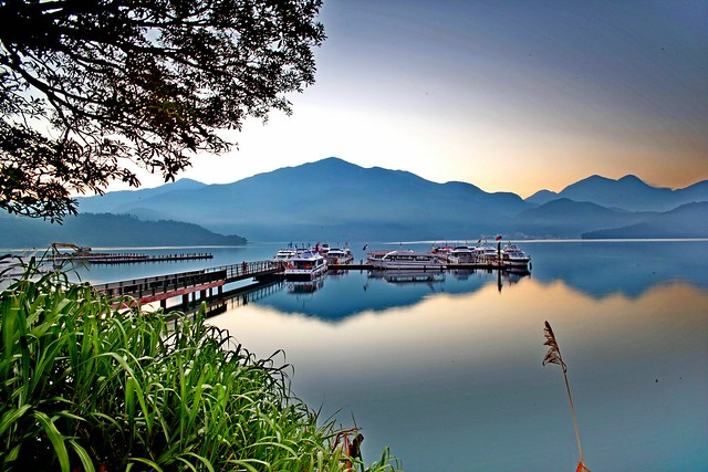 Sun Moon Lake,Nantou,Taiwan南投,日月潭-B