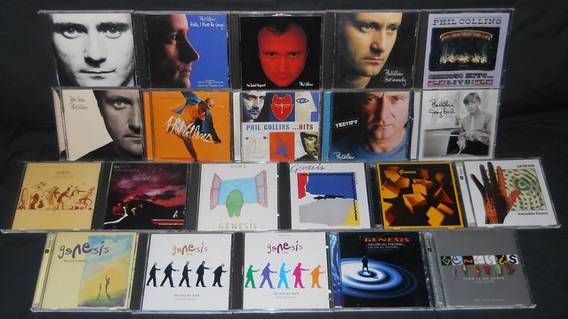 Phil Collins & Genesis Cd Collection