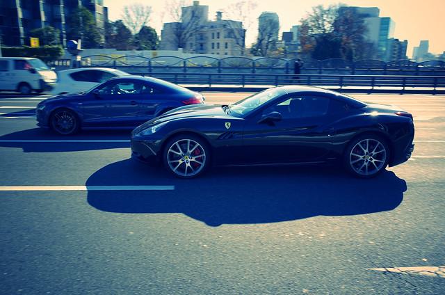 20131226_04_Ferrari California & Audi TT