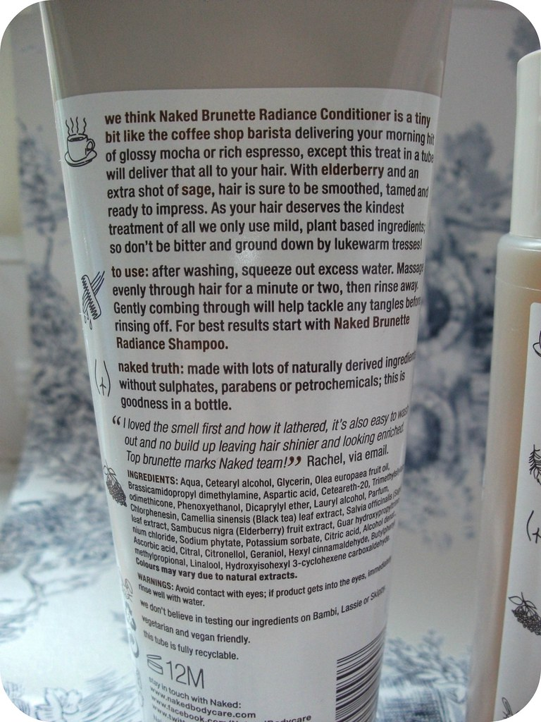Naked Brunette Radiance Conditioner