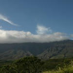 Low clouds in Maui