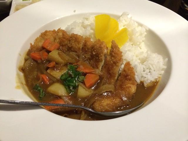 Curry tonkatsu - Wasabi Bistro