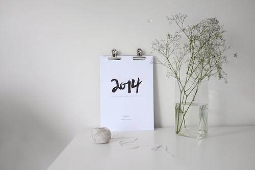 Jasmine Dowling 2014 Calendar