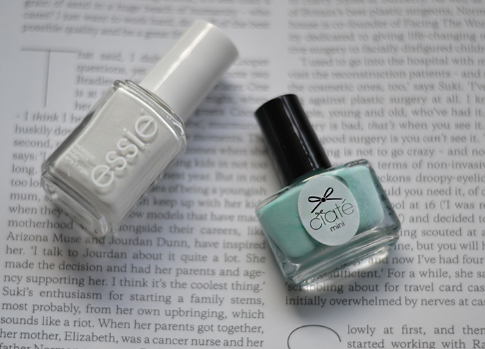 Polishes Blanc Pepperminty