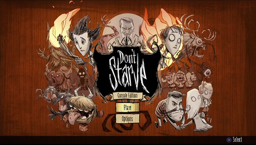 Don't Starve on PS4