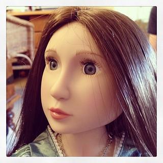 Beautiful Tudor doll.