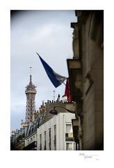 Eiffel Tower from École de Garçons (15éme, Paris) 1
