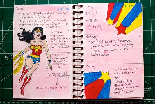 2014 Sketch Journal - Week 2