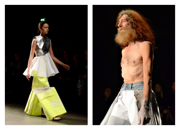 Collage Duran Lantink Fashion week 2014