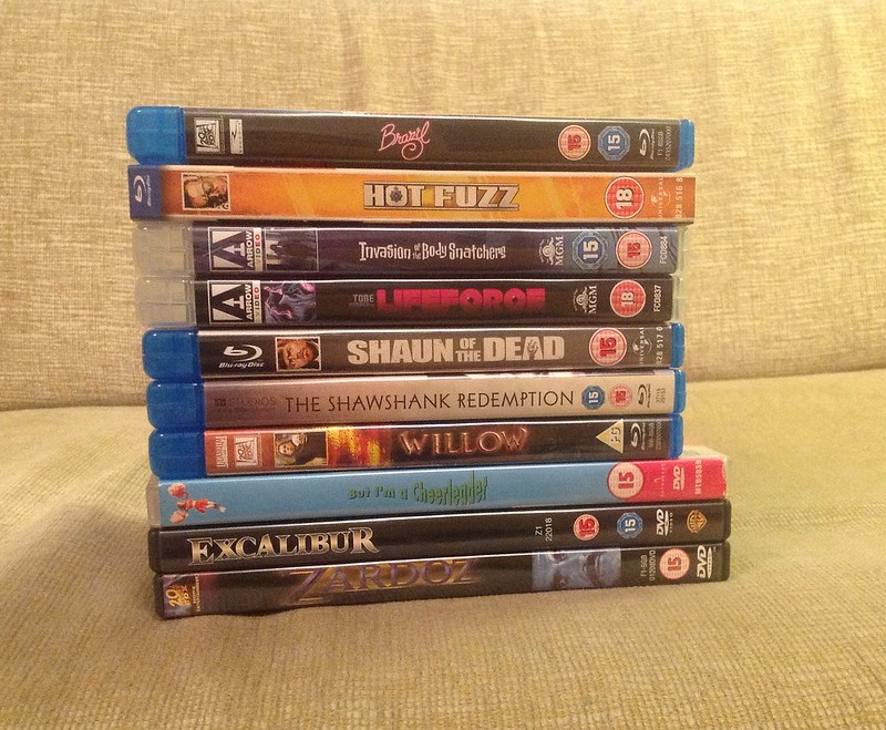 styczniowe nabytki filmowe / January movie haul