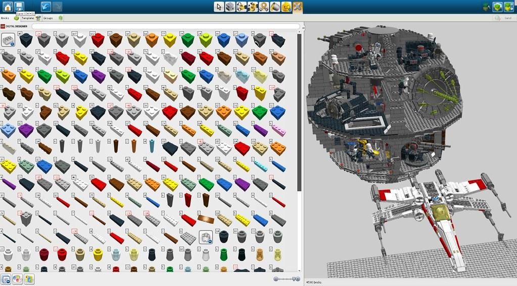 Lego Digital Designer Модели - фото 8