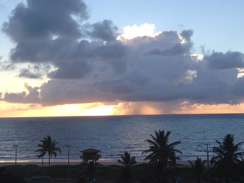 Temporale Brasiliano sulla costa by meteomike