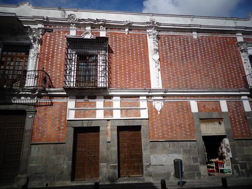 beautiful colonial Puebla