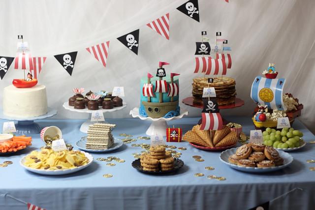 piratkalas desserbord