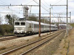 SNCF BB 7256 - Photo of Chalou-Moulineux