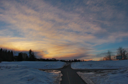 Sultry Winter Sunset