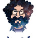Jerry Garcia by Pete Fowler Monsterism