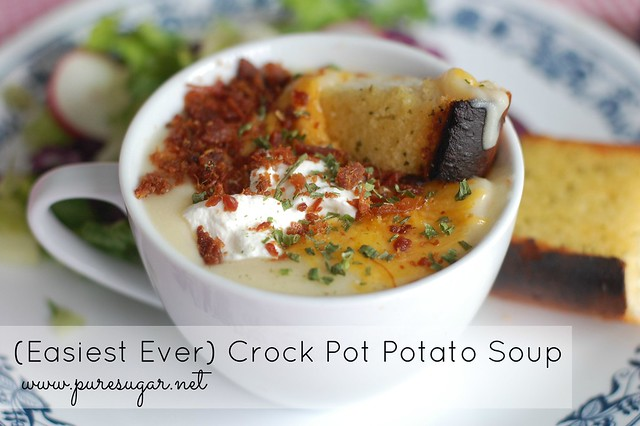 Easiest Ever Crock Pot Potato Soup