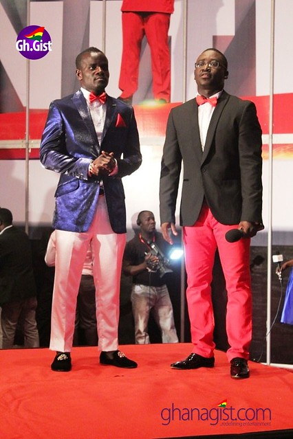Joshua Clottey and Blackboy at Ghana Music Awards 2014