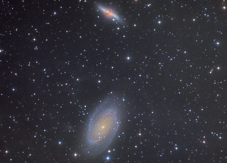 M81, M82, Inegrated Flux Nebula and a waning Supernova 2014J
