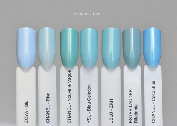 ysl bleu celadon 50 bleu cyclades 51 nail ru. Black Bedroom Furniture Sets. Home Design Ideas