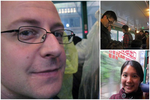 On the bus to Jiufen.