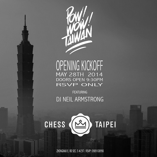 Pow wow Taiwan Opening Party
